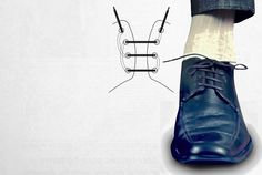 Men's style - The dapper way to tie your shoes