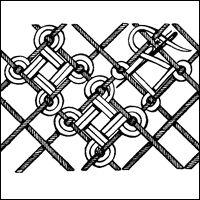 Maltese Cross Filling Stitch
