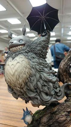 Tonari no Totoro figurine Totoro, Character Art, Character Design, Modelos 3d, 3d Fantasy, 3d Models, 3d Prints, Zbrush, Sculpture Art