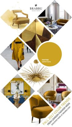 Lemon Curry | Jumpstart Your Fall Home Decor With These Chic & Cozy Rooms | Fall Decorations. Fall Decorating Ideas. #homedecor #interiordesign #fall Read more: https://www.brabbu.com/en/inspiration-and-ideas/interior-design/jumpstart-fall-home-decor-chic-cozy-rooms