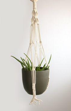 Pots D/écoratifs Ext/érieur ou Int/érieur,3 Tier Suspension pour Plante,JBSON Suspension Macram/é pour Plante Classique Macram/é pour Accrocher Paniers de Fleurs