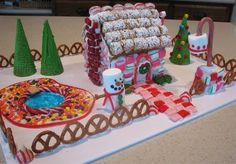 idea for next years gingerbread house
