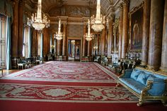Blue Drawing Room - Buckingham Palace