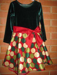 Vestido Festa Importado Criança - Tam 4/5 Anos