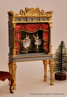 French Puppet Theatre by Maritza Moran /  from http://petitconnoisseurs.com -site