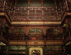Real Gabinete Português de Leitura by Dan Vitoriano, via Flickr