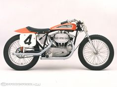 Ironhead Sportster tracker | Harley-Davidson has dominated Flat Track racing for many years and ...