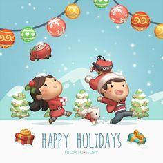 Merry Christmas My Love Xmas 2015, Christmas 2015, Cute Love Stories, Love Story, Christmas Quotes, Christmas Pictures, Hj Story, Cute Love Cartoons, Couple Illustration