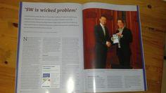 Artikel in SW-journaal, maart 2012 'SW is wicked problem', over boekje Uitvoeren naar vermogen, http://bit.ly/t4YCN8