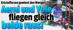 SL Lauberhorn 17-Jan-2016 1.Kristoffersen 2.Razzoli 3.Gross 4.Byggmark 5.Neureuther Hirscher..out !! Aerni und Yule out im 2.Lauf !! ..24.Marc Gini..