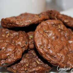 Ideal Protein Chocolate Zucchini Cookies Recipe