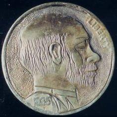 Michael Branham - Portrait of Bo Hughes - Coin: (F) Buffalo, Coins, Auction, Portrait, Rooms, Headshot Photography, Portrait Paintings, Water Buffalo, Drawings
