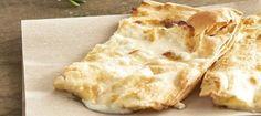 Cheese Focaccia : Italian chef Federico Spagnoli his recipe for cheese focaccia from Recco.