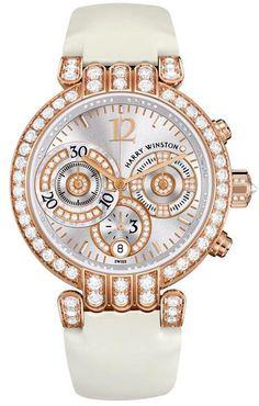 3b147f02d Harry Winston Premier Large Chronograph in rose gold Harry Winston, Winston  White, Fine Watches