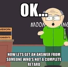 My professor when I try and answer a question