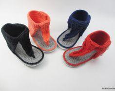 Crochet baby shoes The Yeezy Boost 350 Baby Street por BUBUCrochet