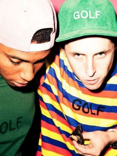 Odd Future Presents the 'Golf Wang' Fall/Winter 2013 Line trendhunter.com