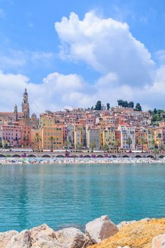 {on the coast} Menton, France Menton, France culturepassport.c… Menton, France culturepassport. Places To Travel, Places To See, Travel Destinations, Visit France, South Of France, Belle France, Villefranche Sur Mer, Beaux Villages, New Travel