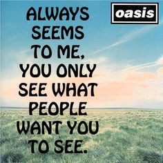 Best song ever. Oasis - Whatever