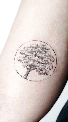 best Ideas for tree tattoo men design style - Tree Tattoos Tattoo Life, Form Tattoo, Shape Tattoo, Get A Tattoo, Tattoos About Life, Tattoo For Man, New Tattoos, Small Tattoos, Tattoos For Guys