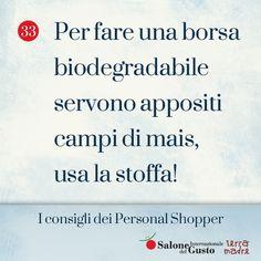 #PersonalShopperTips #SaloneDelGusto #TerraMadre