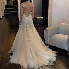 Wedding Dresses #backless #wedding #bride #gown