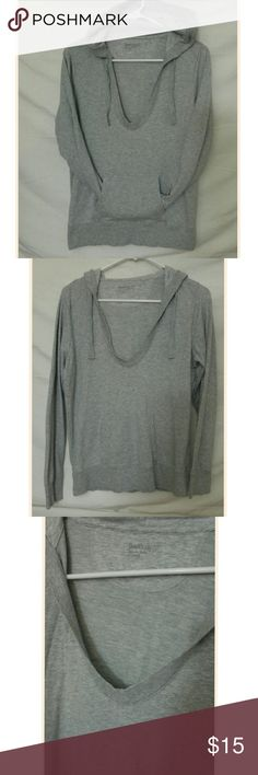 Gap body pullover hoodie small Gray gap body cozysoft pullover hoodie. Worn once in perfect shape. GAP Tops Sweatshirts & Hoodies