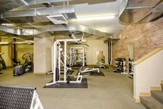 The authentic gym experience at 520 W. Huron #411.