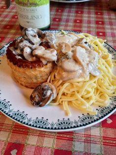 Vol-au-vent d'escargots au Riesling - Recette de cuisine Marmiton : une recette