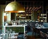 Redd Wood restaurant in Yountville Love the light fixture, banquet seating. Woods Restaurant, Restaurant Lighting, Restaurant Design, Restaurant Interiors, Bar Lighting, Yountville Restaurants, Napa Restaurants, San Francisco Design, Bar Interior Design