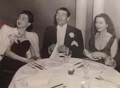 Vivien Leigh, SIR Laurence Olivier and Olivia de Havilland