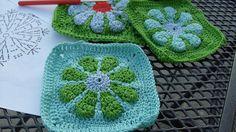 Daisy granny squares