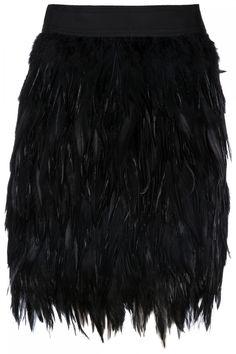 Steffen Schraut Damen Rock mit Federn Schwarz | SAILERstyle Trends, Ballet Skirt, Rock, Skirts, Fashion, Elegant Clothing, Feathers, Clothing, Black