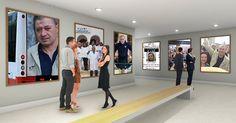 À quoi ressemble ton exposition dans un musée ?