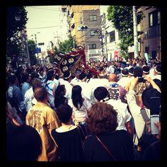 Japanese festival MATSURI