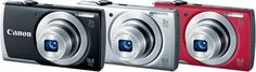 Also announced by Canon today is the PowerShot A2500 Digital Camera. Like the ELPH 115 IS, it is a very compact, easy-to-use camera with a 16MP sensor and 720p HD video capability.