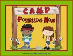 Camp Possessive Noun is a terrific game for your students to play to review possessive nouns.  Just print and play! The game includes a full color game board, playing cards, instructions, scoring sheets, answer key, and a worksheet for students to showcase what they have learned.