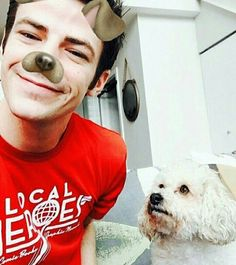 """This dog is like """" WTF, I'm with stupid """" ❤❤"""