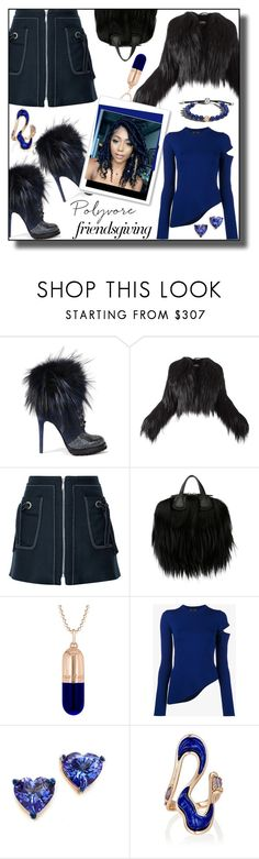 """Poly-family Members"" by nusongbird ❤ liked on Polyvore featuring Ermanno Scervino, Alaïa, Kenzo, Givenchy, True Rocks, Proenza Schouler, Holly Dyment, Fernando Jorge and John Hardy"