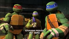 BEST of Michelangelo - Season 1 - TMNT 2012 [HQ]