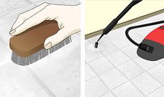 How to Clean Grout Between Floor Tiles: 19 steps - wikiHow