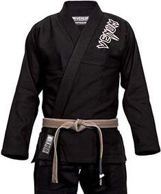 Karategi nero PRO Karate Ninja Kimono Budo uniforme Giappone Arti Marziali