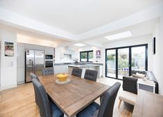 Fill your home with light by installing a Velux or Fakro roof window. Single Storey Extension, Roof Window, Roof Light, Curved Glass, Flat Roof, Open Plan Kitchen, Skylight, Case Study, Living Spaces