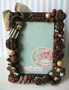 Melty Chocolate Picture Frame