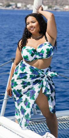GabiFresh Plus Size Underwire Bikini Swimsuit
