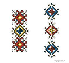 This Pin was discovered by bir Cross Stitch Beginner, Small Cross Stitch, Cross Stitch Designs, Cross Stitch Patterns, Cross Stitching, Cross Stitch Embroidery, Beaded Cross, Crochet Tablecloth, Bargello