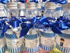 Botellas para agua bendita con denario Facebook Sign Up, Water Bottle, Agua Bendita, Water Bottles, Blessed, Christening, Bangle Bracelets, Water Flask