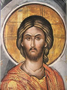 face of Jesus Religious Images, Religious Icons, Religious Art, Byzantine Icons, Byzantine Art, The Bible Miniseries, Lucas 11, Roman Church, Spiritual Paintings