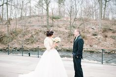 Oh hello! Fancy seeing you here on this #wedding day. Photography by Brklyn View Photography / brklynview.com