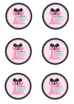 Montei este kit para chá de cozinha, vocês podem baixar, editar com seus dados e depois mandar imprimir. Clique na imagem para amplia-lá e ... Printable Lables, Party Printables, Free Printables, Baking Logo Design, Baking Party, Bottle Cap Images, Logo Sticker, Party Items, Vintage Labels